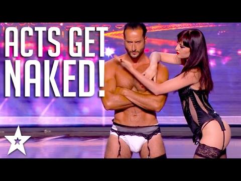 Xxx Mp4 Top 10 NAKED ACTS On Got Talent Got Talent Global 3gp Sex