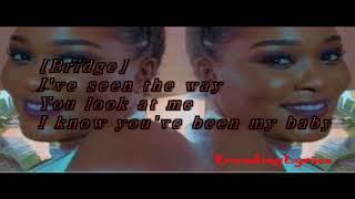 Lady Zamar - My Baby (LYRICS)