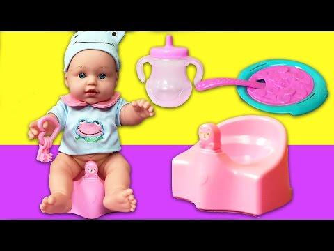 YENİ Boubou Oyuncak Bebek   Bebek Bakma Oyunu   EvcilikTV