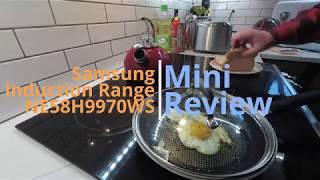 Samsung Inductive Range Mini-review