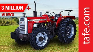 Massey Ferguson 9500 - Tractor Walk-through (Hindi)