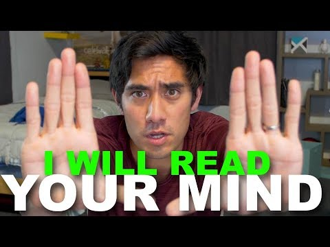 I Am Going to Read Your Mind Magic Trick