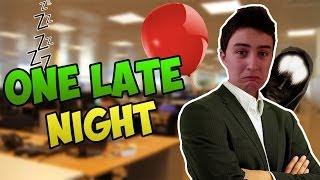 MA PLUS LONGUE NUIT (de travail!) - One Late Night [FR]