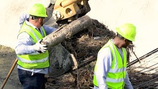 City hosts ditch clean-up demonstration