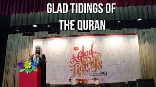 Glad Tidings Of The Quran   Mufti Menk   Hong Kong   At The Peak 2017  