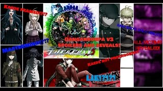 Danganronpa V3 More Spoilers! All Murder Cases, Mastermind Revealed and More!
