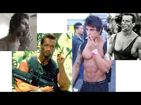 Smoking fitness health and bodybuilding