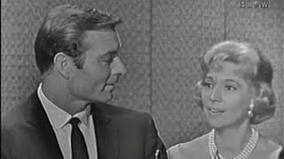 What's My Line? - George Montgomery & Dinah Shore; Mort Sahl [panel] (Oct 4, 1959)