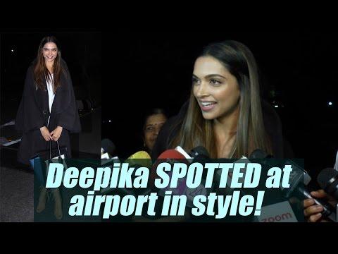 Xxx Mp4 Deepika Padukone SPOTTED At Airport Talks About XXx Watch Video FilmiBeat 3gp Sex