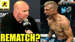 Immediate Rematch for TJ Dillashaw against Henry Cejudo? Dana White wants it!,Silva meets Adesanya
