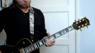 Om Shanti Om Theme On Electric Guitar