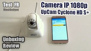Test Camera IP 1080p Vision Nocture (UpCam Cyclone HD S+)