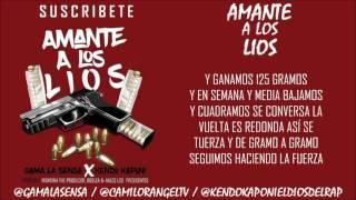 Kendo Kaponi Ft Gama La Sensa - Amante A Los Lios (Video Lyric)