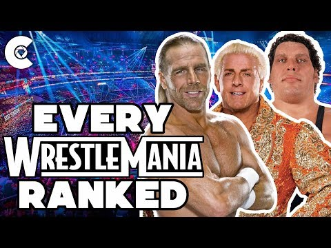 Xxx Mp4 Every WrestleMania Ranked From Worst To Best 3gp Sex