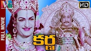 Karna Telugu Full Movie | NTR | Savitri | Sivaji Ganesan | Telugu Hit Movies | Indian Video Guru