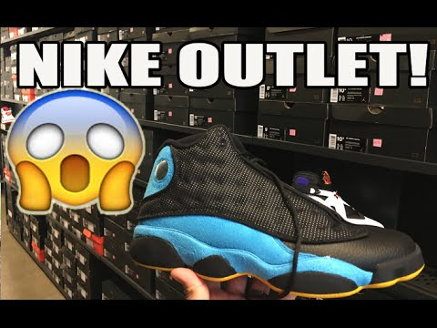 Jordan Retro Steals! Nike Factory Store Sneaker Shopping