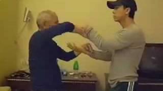 Donnie Yen Chi Sao with Grandmaster Ip Chun