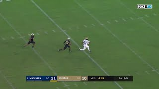 Chris Evans 49-Yard Touchdown vs. Purdue