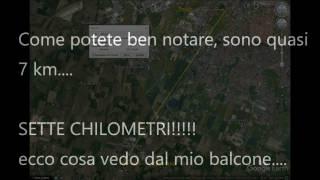 Modena park - prova luci dalla lunga distanza.... -8 giorni al concertone di Vasco