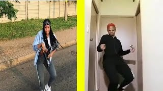 Bontle Modiselle vs Babes Wodumo dance Compilation