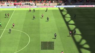 Atlético Madrid - Estudiantes | PES 2014 | Relatos Closs y Niembro