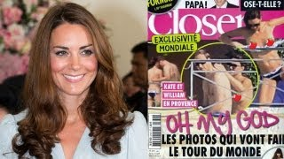 Kate Middleton topless photos: the royals fight back
