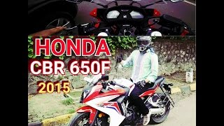 2015 HONDA CBR650F Test ride Review | First impression.