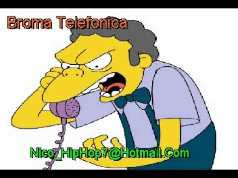 Broma telefonica que termina mal
