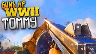 THE BEST SMG...? - Weapons of COD: WW2 - Tommy Gun!