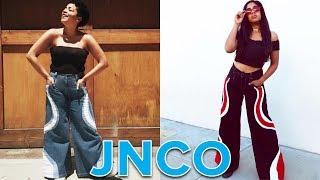 Women Wear Baggy Jeans From The
