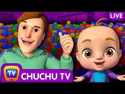 Johny Johny Yes Papa 3D Nursery Rhymes & Songs For Babies - Live Stream