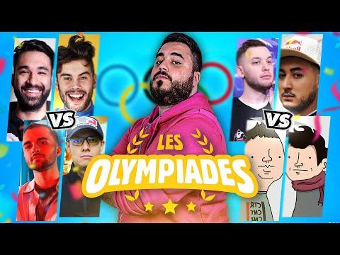 🏆 LE PLUS GROS AFFRONTEMENT Team Squeezie vs Gotaga vs LeBouseuh vs Wankil