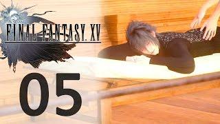 Let's Play FINAL FANTASY XV (FR) #5 Un P'tit Massage ? (Secondaire)