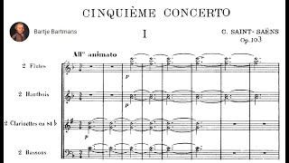 Camille Saint-Saëns - Piano Concerto No. 5 (Egyptian), Op. 103 (1896)