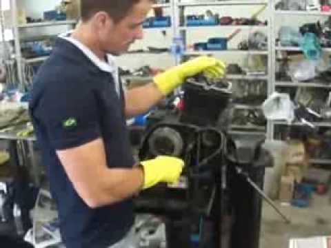 Motor XL 250 R Reparos e montagem Cássio Mecânico