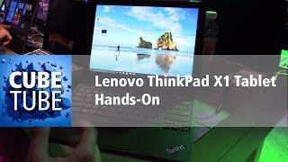 CES 2016: Lenovo ThinkPad X1 Tablet Hands On deutsch HD