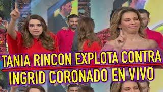 Tania Rincón EXPLOTA CONTRA Ingrid Coronado EN VIVO en Juego sin Palabras