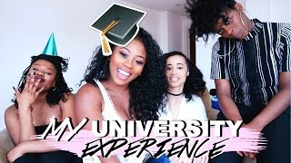 MY UNIVERSITY EXPERIENCE | CAMPUS, BOYS, PARTIES, FRIENDS
