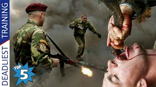 Top 5 Most Deadliest Military Training In The World (Hindi)