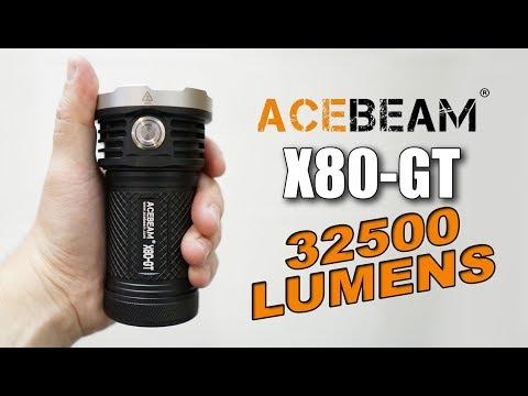 Xxx Mp4 Acebeam X80 GT World S Brightest Flashlight 3gp Sex