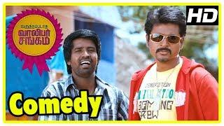 Sivakarthikeyan - Soori Comedy   Varuthapadatha Valibar Sangam Comedy Scenes   Part 1   Sri Divya