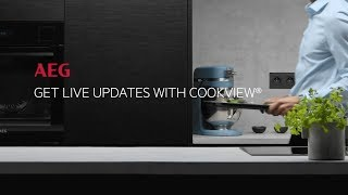 Get Live Updates With CookView®, AEG, ITex100 BlackLine Oven