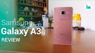 Samsung Galaxy A3 2016 - Review en español