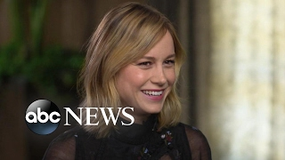 Brie Larson discusses trying something new in