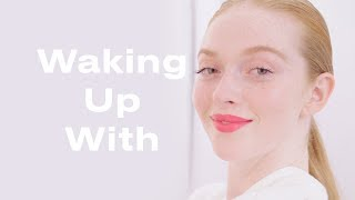 Dancer Larsen Thompson Shares Her Morning Beauty Routine | Waking Up With | ELLE