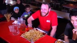 Joey Chestnut Breaks Satay record in Singapore