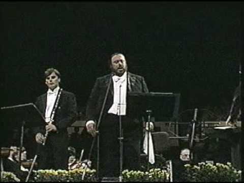 Luciano Pavarotti. 1987. Non ti scordar di me. Madison Square Garden. New York