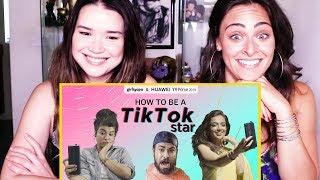 HOW TO BE A TIKTOK STAR ft. Ahsaas Channa, Jizzy & Bhavini Soni   Girliyapa   Reaction!