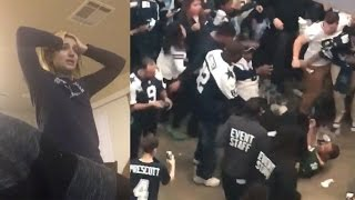 Download Cowboys Fans FIGHT Packers Fan, Break TVs and Cry After Playoff Loss to Green Bay 3Gp Mp4