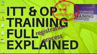 itt/ot registration process fully explained for ca students ( same process for itt advance & gmcs)